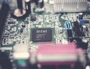Image d'un processeur Intel