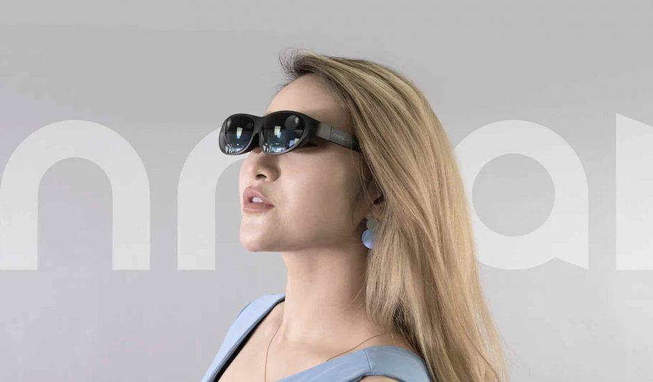 Aperçu des lunettes AR de Nreal.