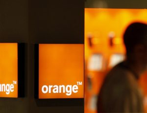 Aperçu d'une boutique Orange.