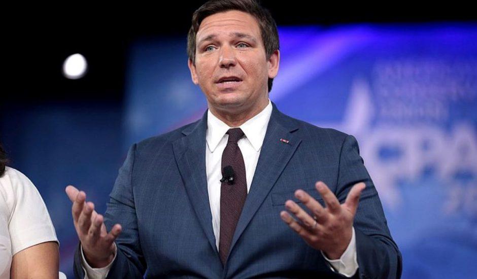 le gouverneur de Floride Ron DeSantis