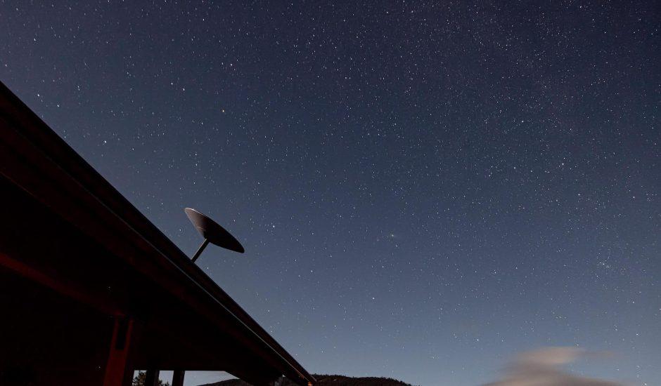 Aperçu des antennes Starlink.