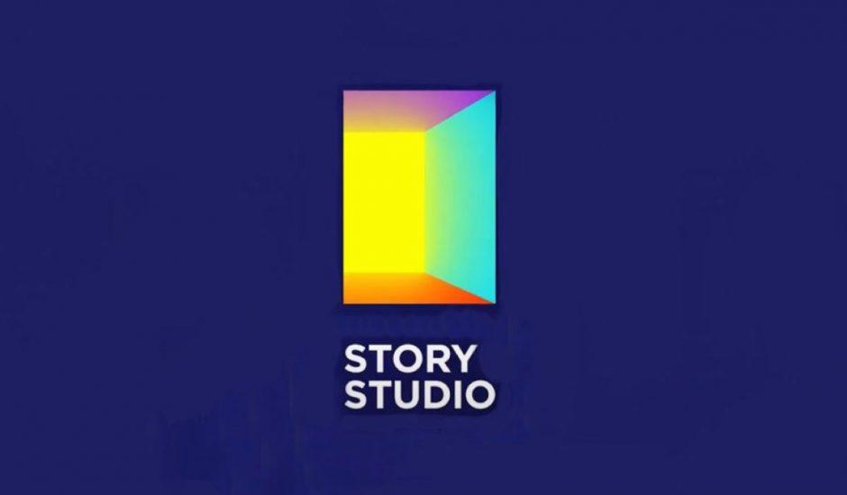 logo de story studio, nouvelle application de snap