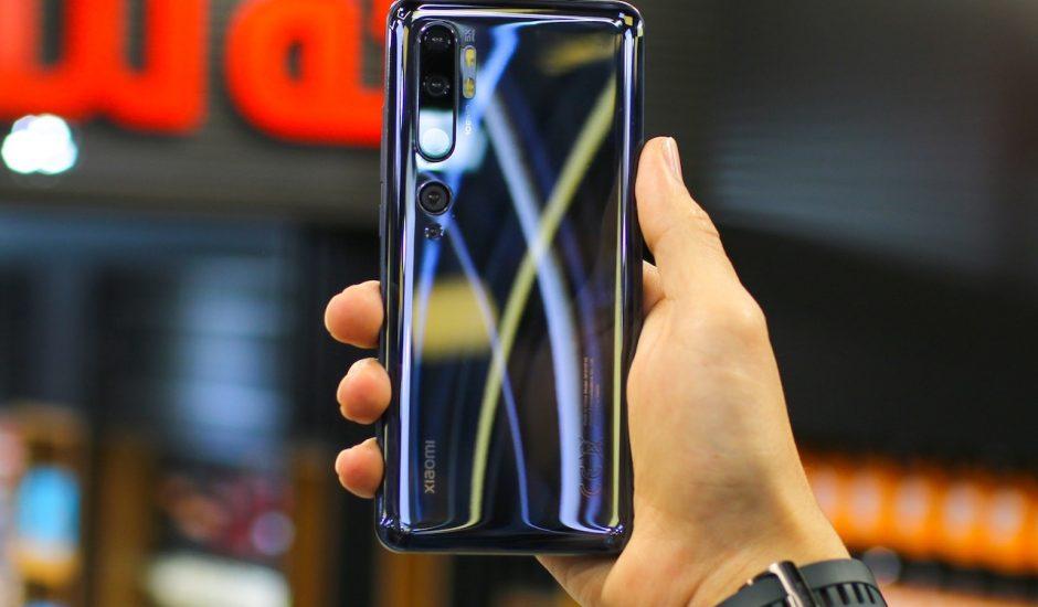 Aperçu d'un smartphone Xiaomi.