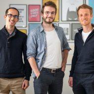 De gauche à droite : Sebastien Beyet, PDG et co-fondateur ; Lucas Bertola, CTO et co-fondateur ; Clément Mauguet, co-fondateur