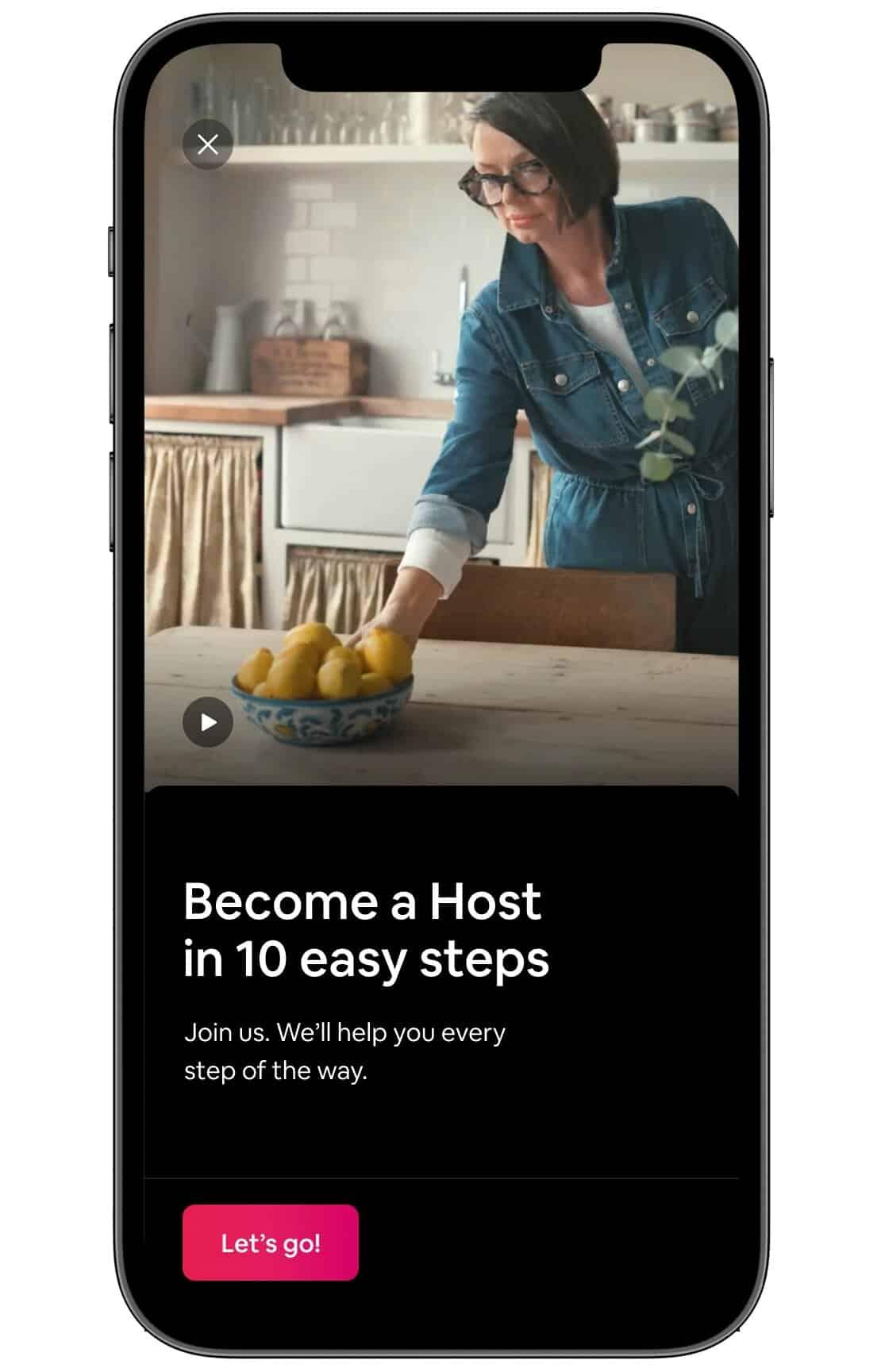 nouvelle option de simplification de la procédure pour ajouter un logement sur Airbnb