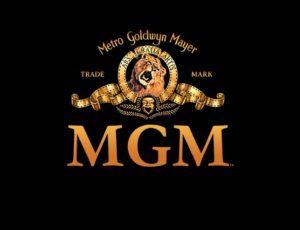 Le logo du studio MGM.