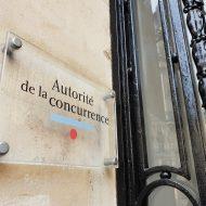 La plaque posée sur l'immeuble de l'Autorité de la concurrence