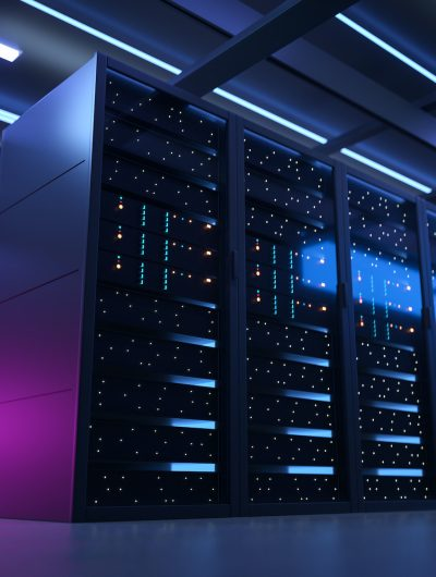 photographie d'un data center