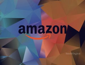 Illustration du logo d'Amazon.