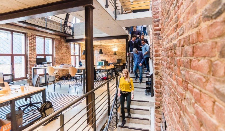 un bureau ouvert d'une entreprise B2B