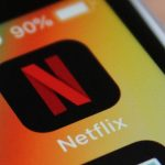 Aperçu du logo Netflix sur iOS.