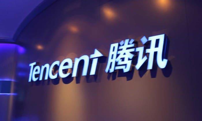 Logo de Tencent. Négociation entre les États-Unis et Tencent pour que le BATX ne se sépare pas de Riot Games et Epic games.