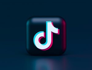Illustration du logo de TikTok.