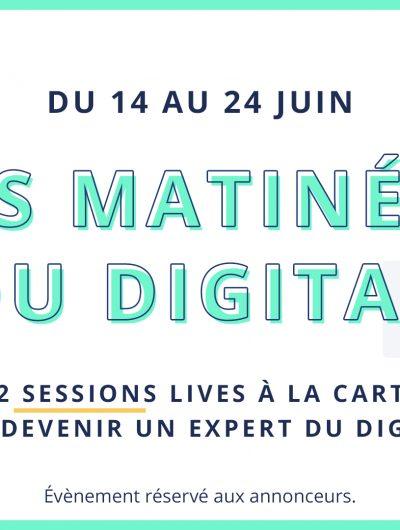 événement digital gratuit matinée