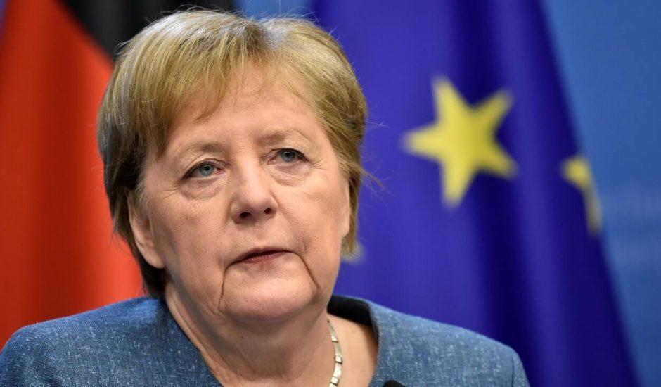 Aperçu d'Angela Merkel.
