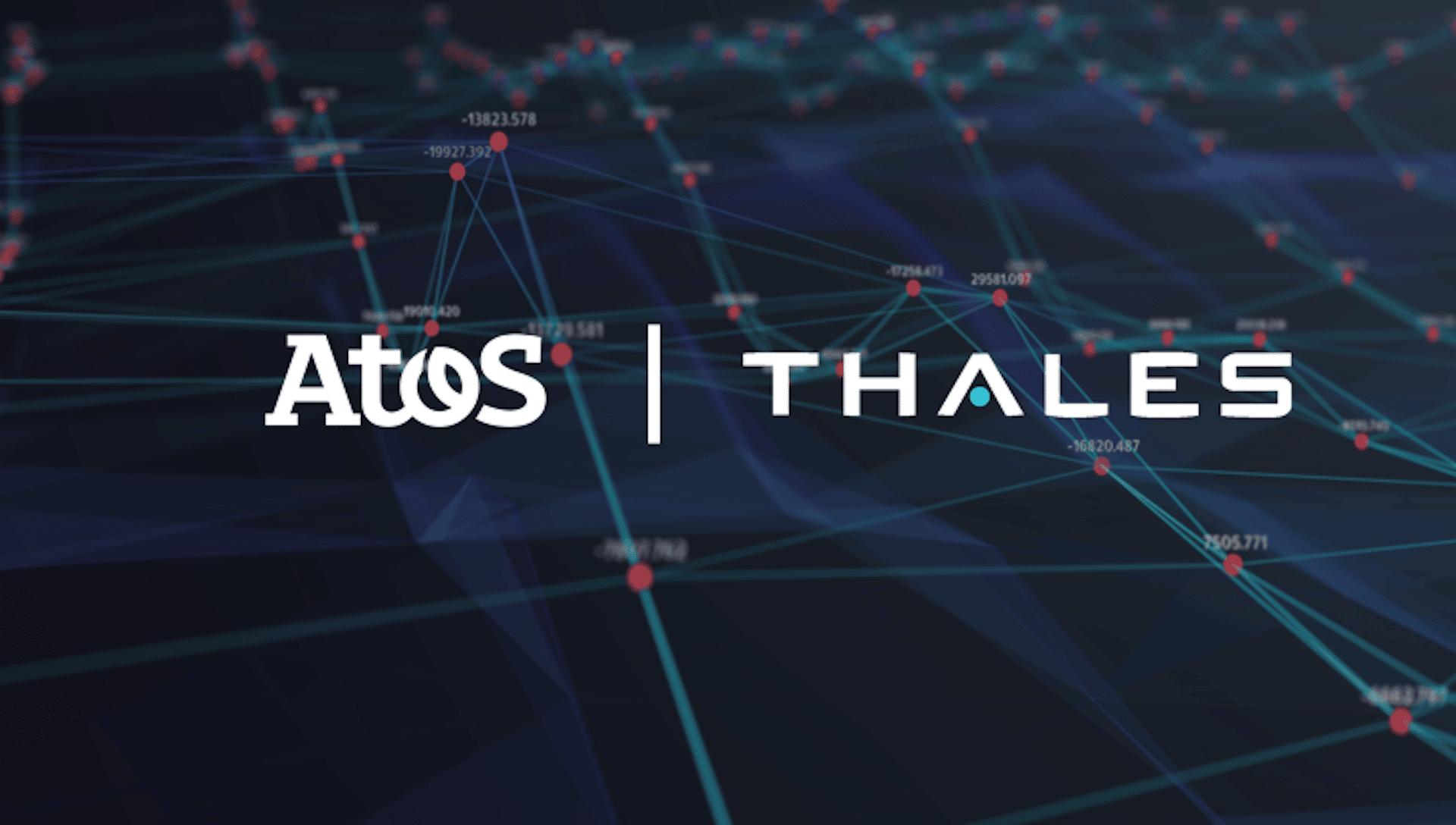 Thales et Atos s'allient pour créer un géant européen du big data et de l'IA