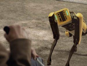 Aperçu du robot Spot.