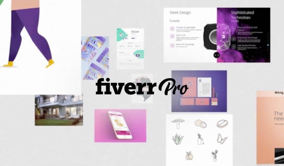 avis sur la plateforme de freelances Fiverr Pro