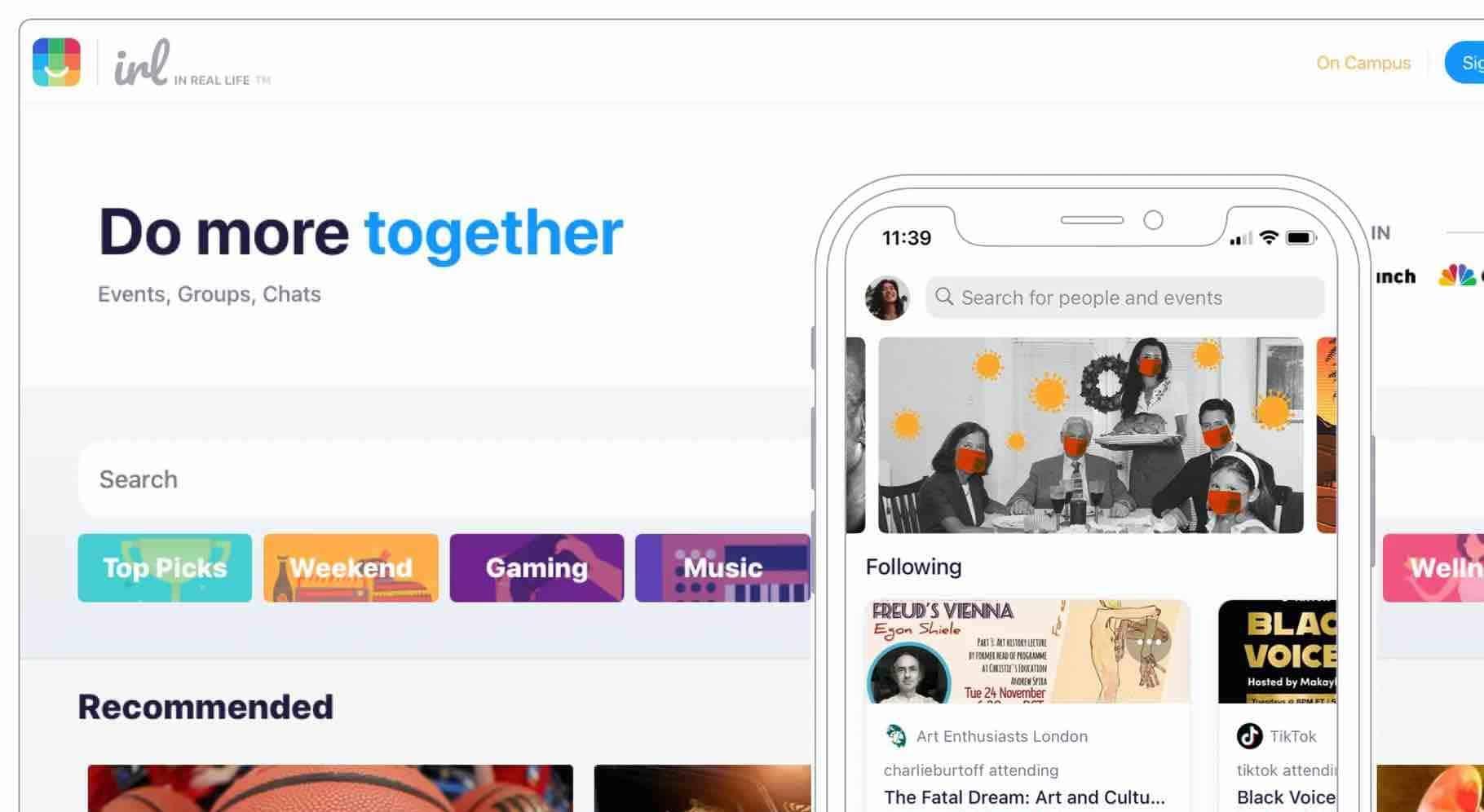 IRL : le nouveau réseau social qui veut faire de l'ombre aux groupes sur Facebook