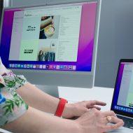 WWDC21, mac, imac et ipad se conncectent ensemble.