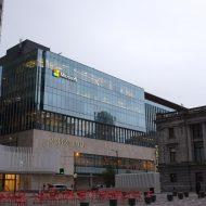 Photographie des bureaux de Microsoft à Vancouver au Canada.