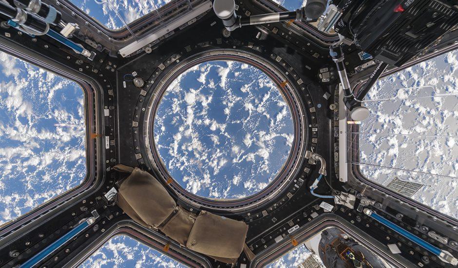 Aperçu de la Terre depuis l'ISS.