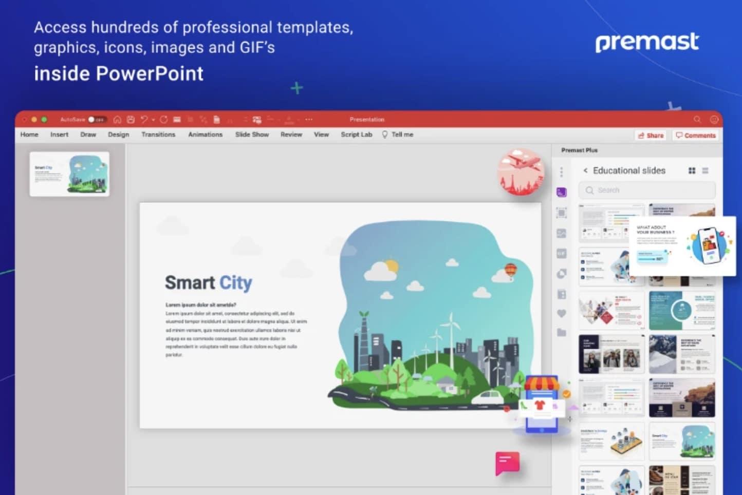 plugin Premast PowerPoint