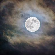 la lune de nuit