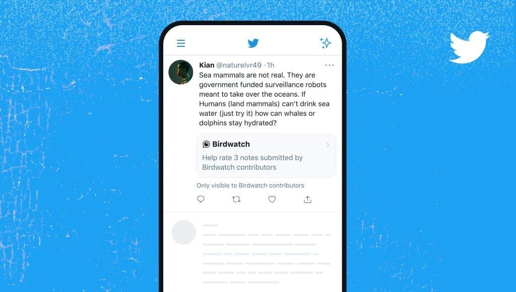 Birdwatch sur Twitter est enfin disponible.
