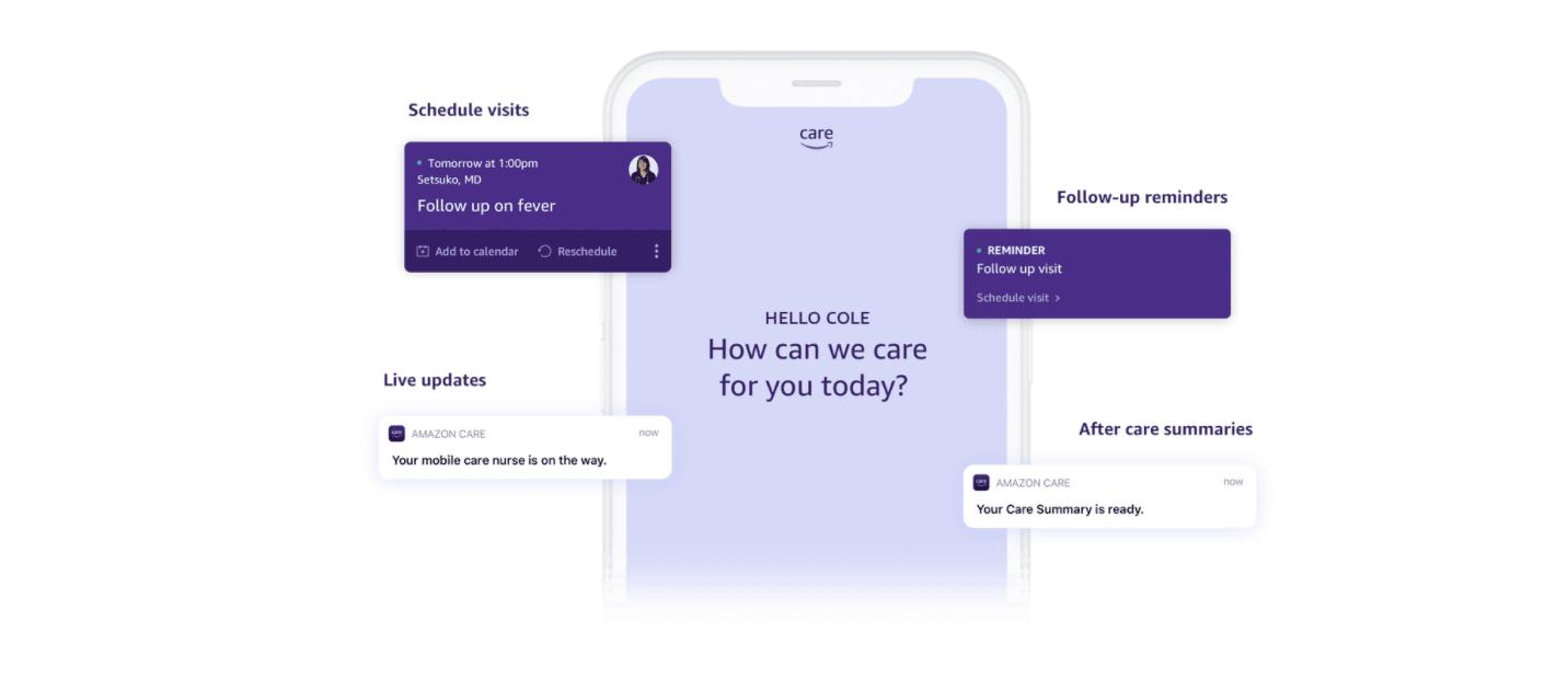 Amazon affirme que son service d'e-santé séduit les entreprises