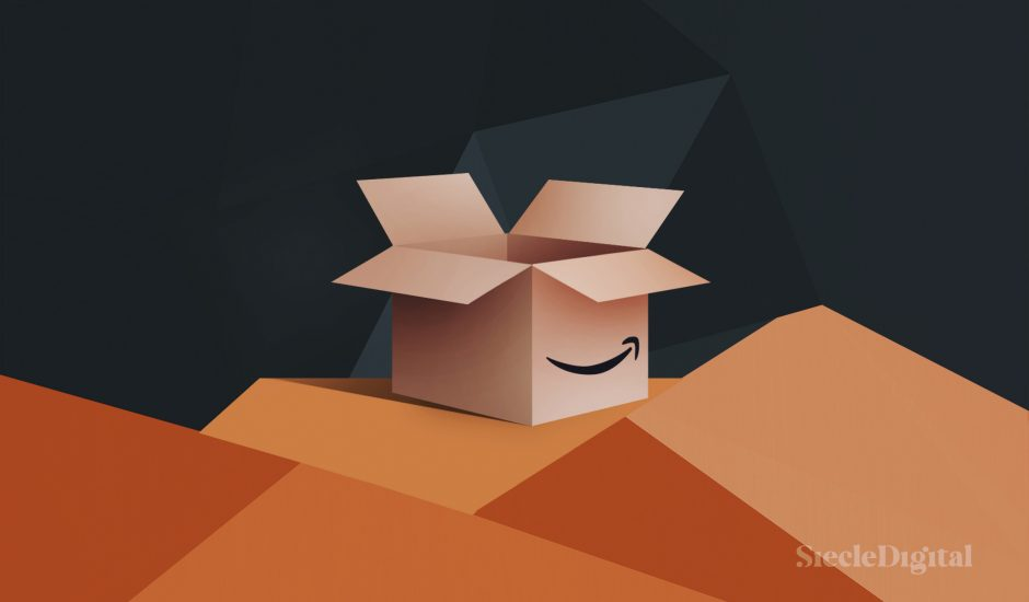 Illustration pour la place de marché Amazon