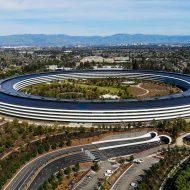 Le QG d'Apple à Cupertino.