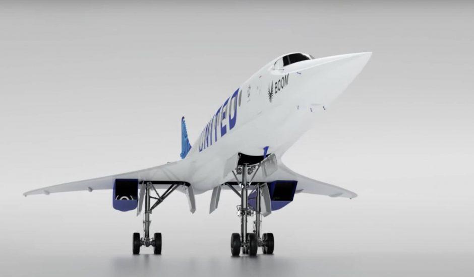 L'avion Boom Overture.