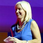 Portrait de Carolyn Everson, head of ad chez Facebook.