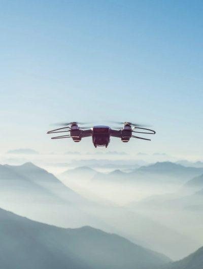 Aperçu d'un drone en train de voler