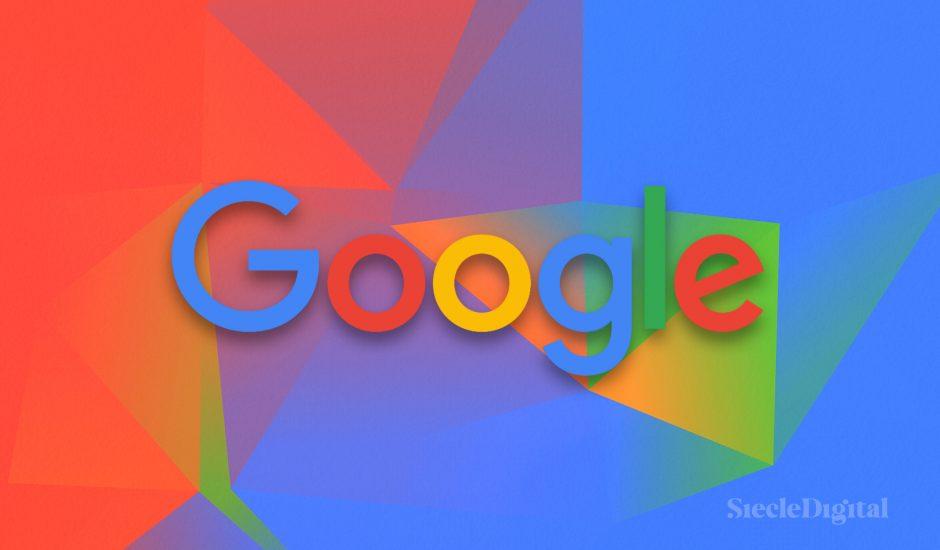 Illustration du logo de Google.
