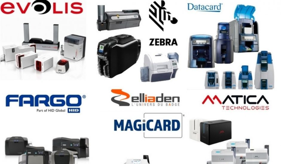 des imprimantes badge