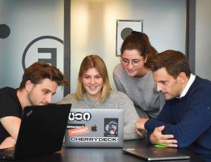 des participants à un événement digital