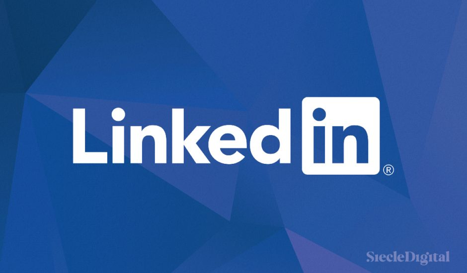 illustration du logo linkedin