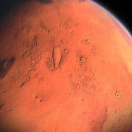 Artystyczna wizja Marsa.