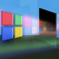 Illustration du logo de Microsoft.