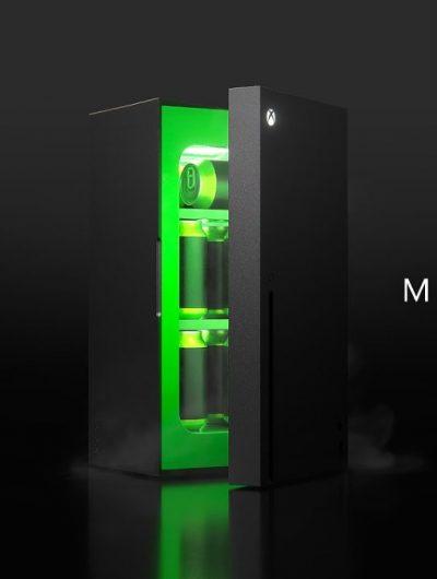 Le mini-frigo au design de la Xbox Series X est réel.