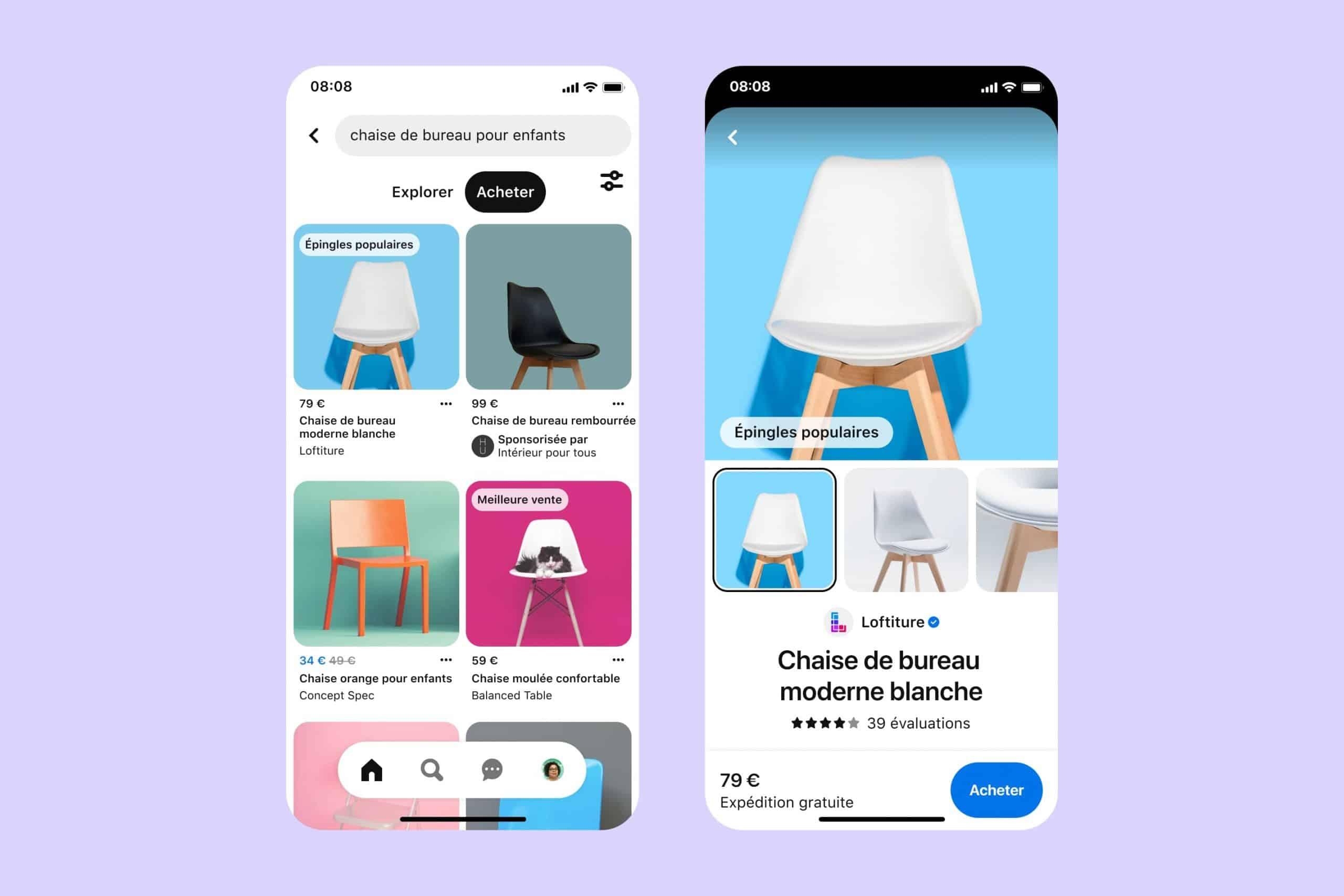 Pinterest : des nouvelles fonctionnalités shopping sont disponibles en France