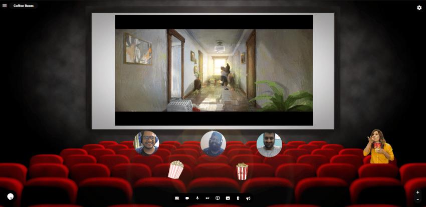 reslash salle de cinéma