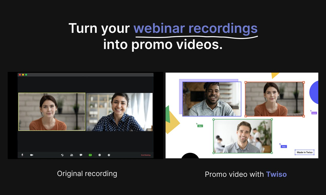 Cet outil transforme les webinars en outil d'acquisition avec des vidéos engageantes