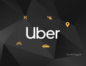 Illustration du logo Uber.