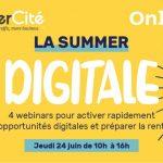 4 sessions de webinars organisées par Cybercité