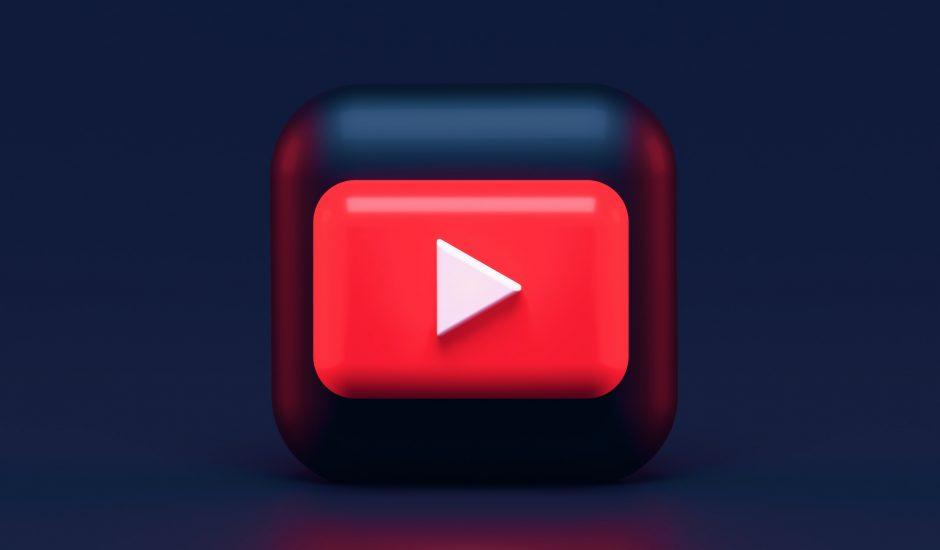 Le logo de YouTube.
