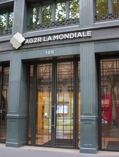 Aperçu des bureaux d'AG2R La Mondiale.
