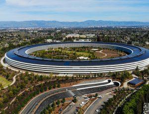 L'Apple Park à Cupertino, Californie